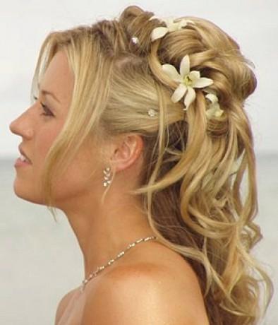 svadobné účesy krátke vlasy